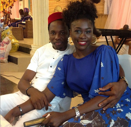 bayo omoboriowo wedding