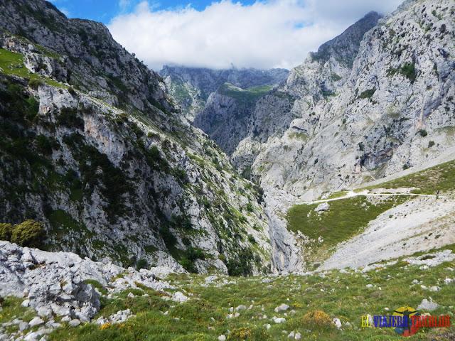 Ruta del Cares, tramo antes del descenso