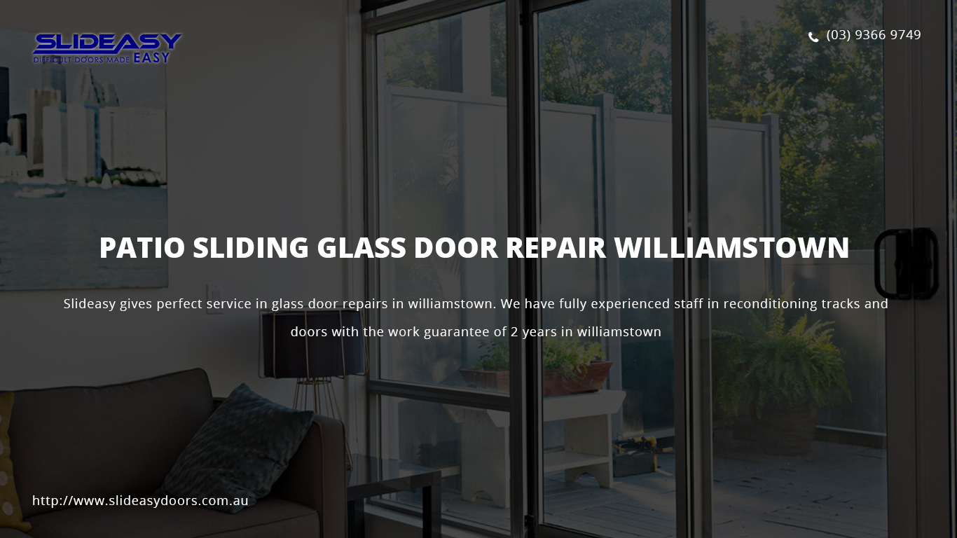 Sliding Glass Door Repairs Melbourne Track And Roller Replacements