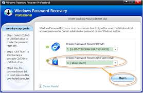 Resetting Your Windows Password With Reset Password Pro