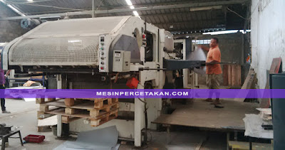 Bobst Automatic Die Cutting Machine