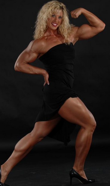 Practice bodybuilding even as a woman (part 1)