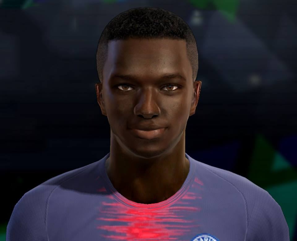PES 2013 Moussa Diaby (PSG) Face by Pablobyk