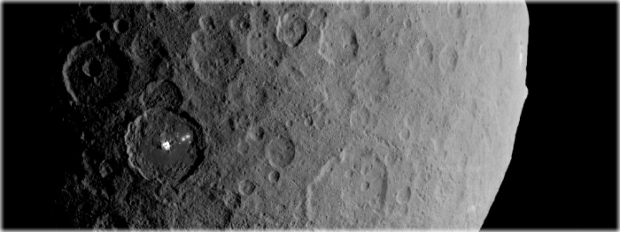 vulcões de gelo descobertos em Ceres estão ativos