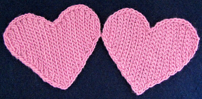 Two Hearts, Two Stitches: Back-Loop Slsts & Front-Loop Slsts