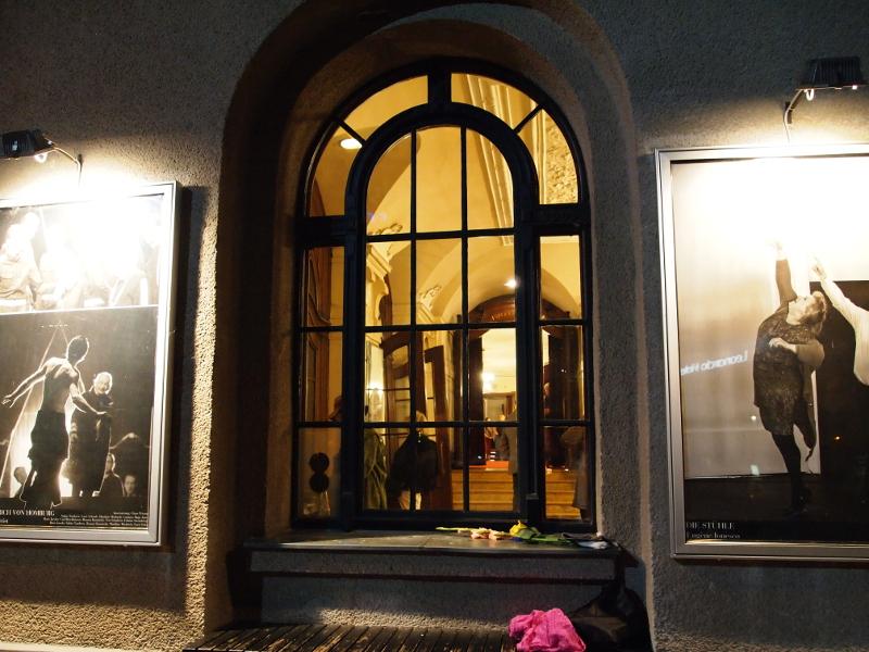 Fenster des Berliner Ensambles