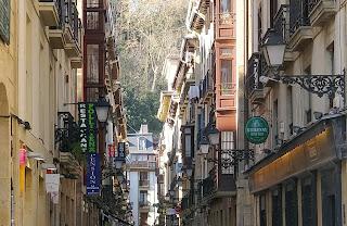 weekend à Saint Sebastien city guide the green frog vieille ville