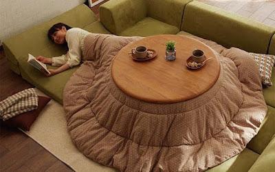 Η γιαπωνέζικη κουβέρτα-πολυεργαλείο