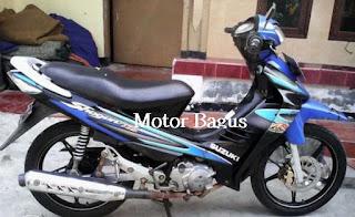 Harga motor Suzuki Shogun bekas (second)