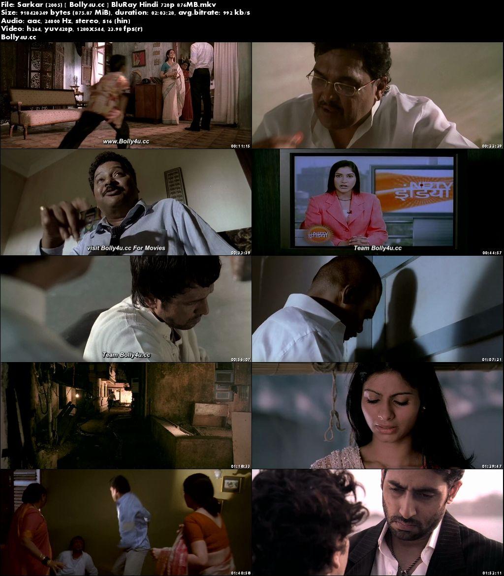 Sarkar 2005 BluRay 850Mb Full Hindi Movie Download 720p