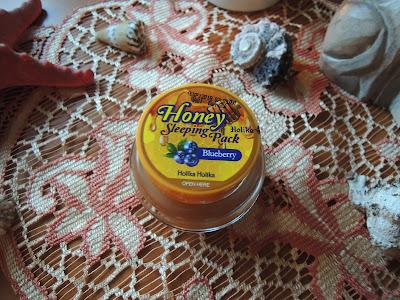 Azjatycki Piątek - Holika Holika Honey Sleeping Pack wersja Blueberry