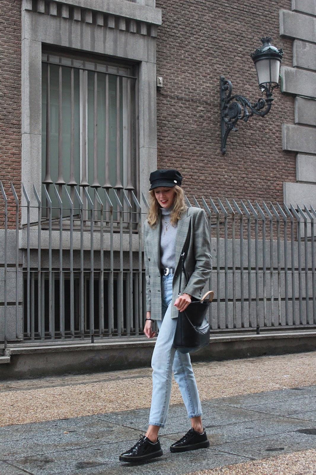 dfranklin sneakers americana cuadros gorra marinera british street style