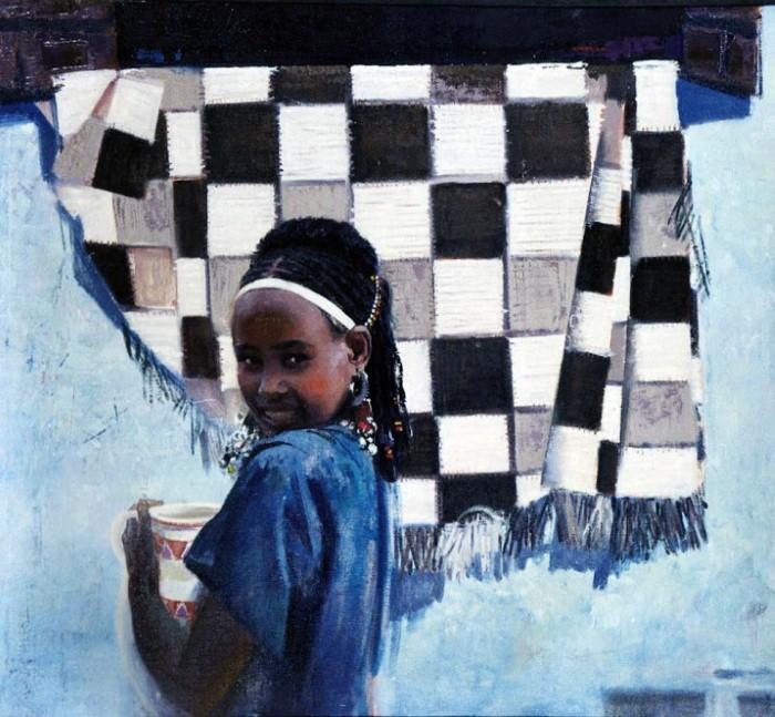 Teasfay Atcbekha Negga. Современный эфиопский художник 9