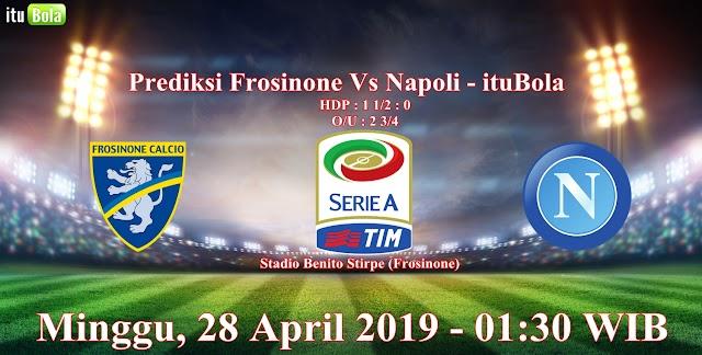 Prediksi Frosinone Vs Napoli - ituBola