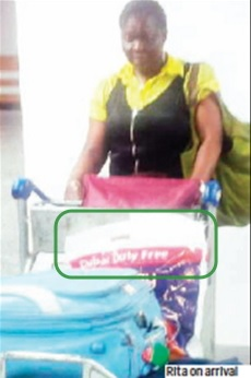 Nigerian Woman,Tailor Imports Cocaine Into Lagos From Dubai With Duty Free Bag