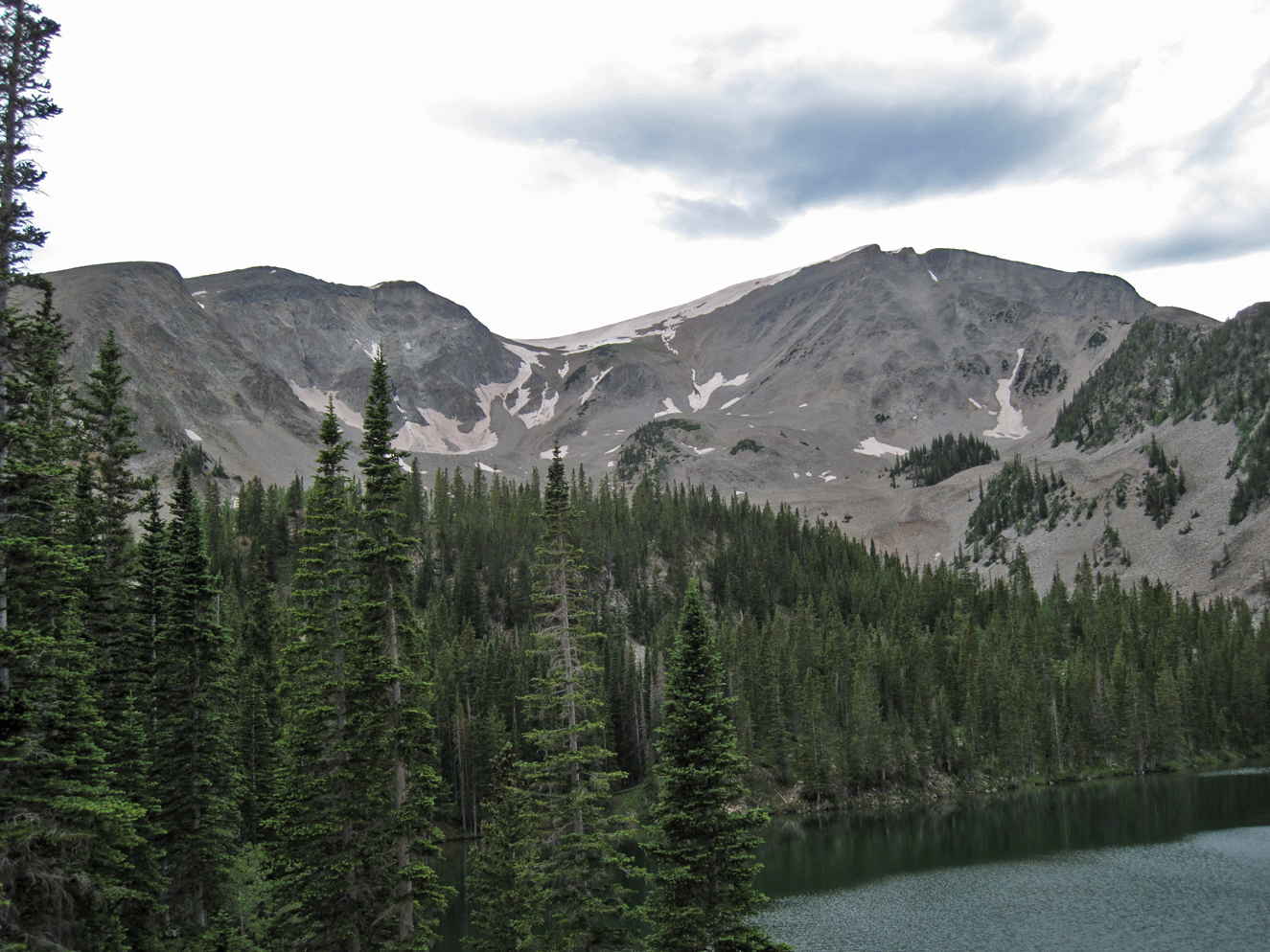 Mount Sopris from Thomas Lakes