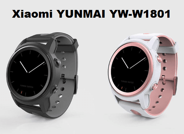 Xiaomi YUNMAI YW-W1801 New SmartWatch Specs, Price, Features