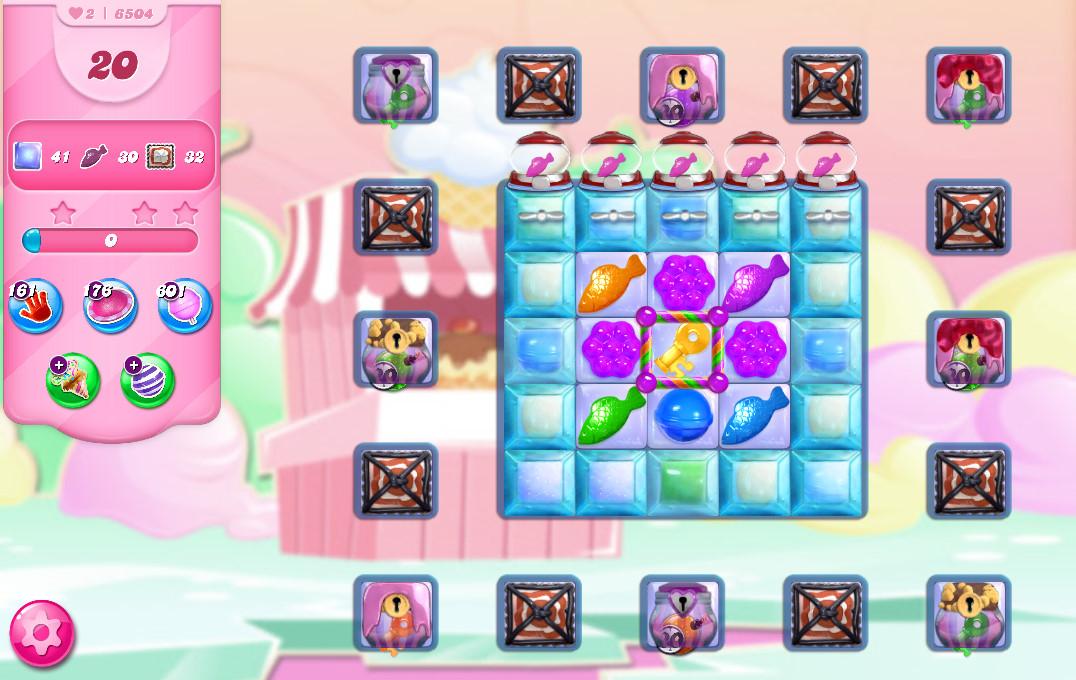 Candy Crush Saga level 6504