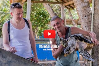 Bentota Beach Schildkrötenaufzucht, Arkadijs Weltreise auf WELTREISE.TV, Die Wegsucher