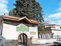 Kastamonu'daki Şeyh Şaban-i Veli Türbesinin giriş kapısı