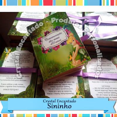 Convite Livro Sininho
