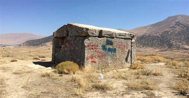 2,500 year old mausoleum in southern Turkey defaced
