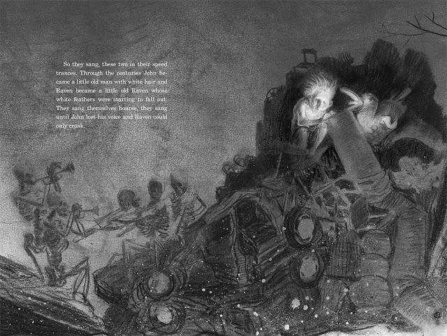 Soonchild, Baśń Eskimoska, Baśń Inuicka, współczesne baśnie, Baśnie na warsztacie, Mateusz Świstak, Russell Hoban, Alexis Deacon, ilustracje baśni,