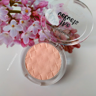 ESSENCE THE VELVETS EYESHADOWS-02 ALMOST PEACHY-