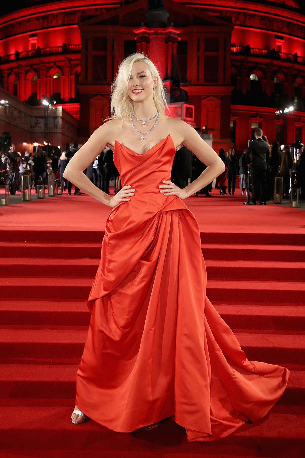 Karlie Kloss in Vivienne Westwood Couture