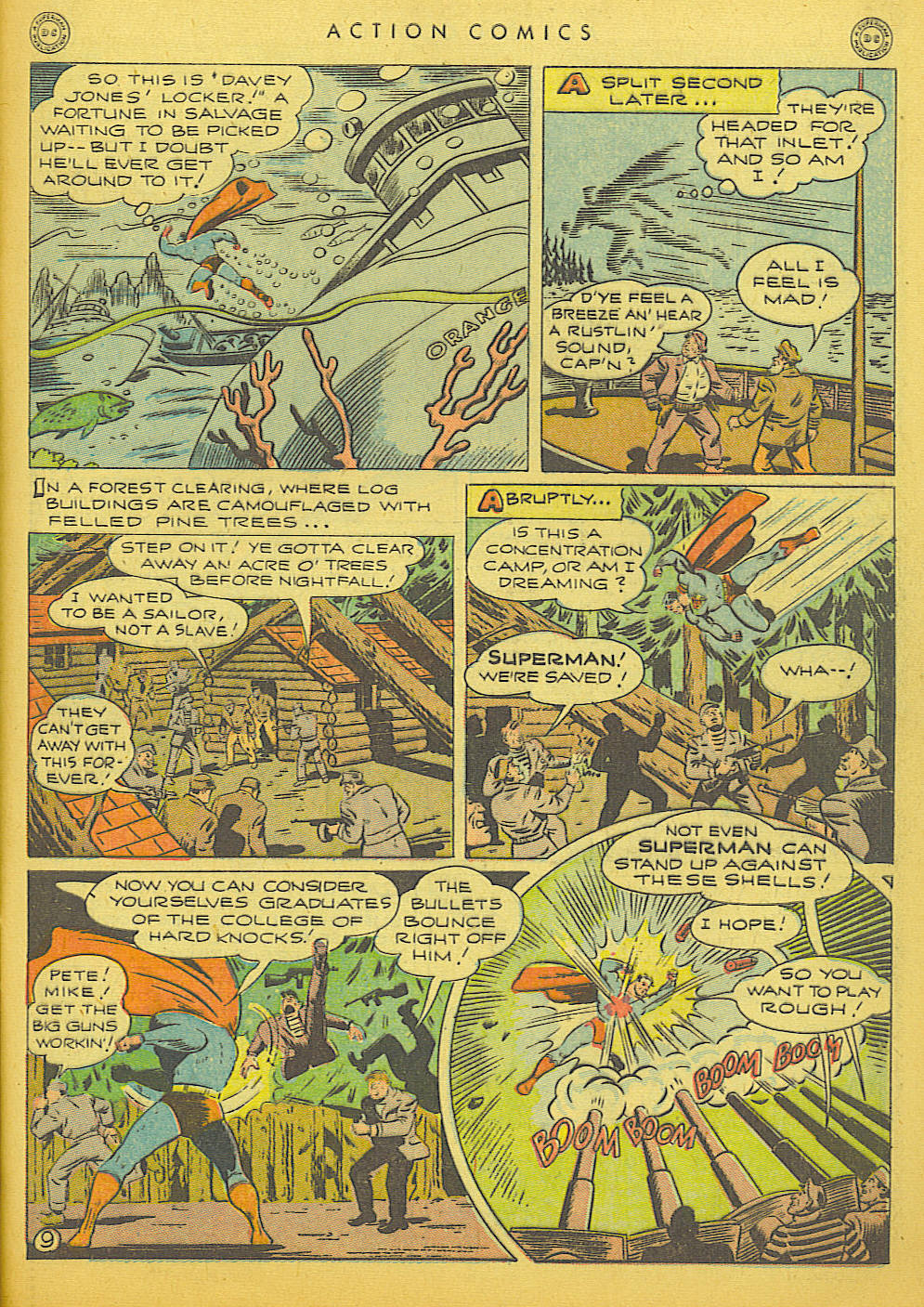 Read online Action Comics (1938) comic -  Issue #91 - 11