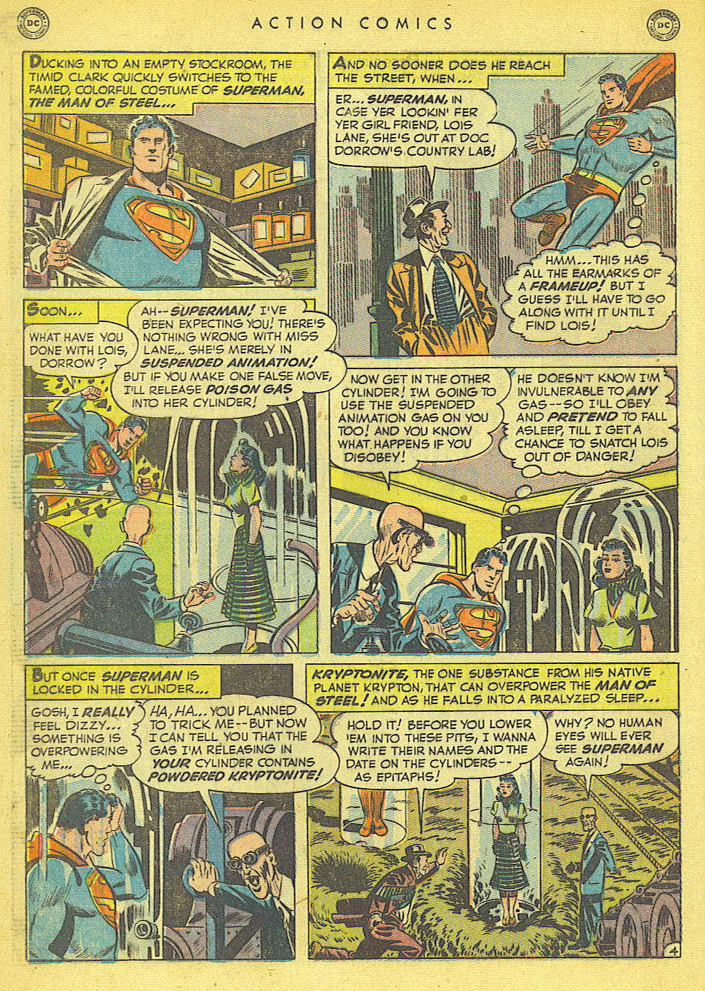 Read online Action Comics (1938) comic -  Issue #152 - 6