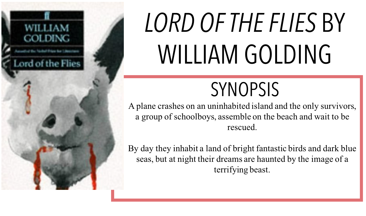 can lord of the flies william golding Lord of the flies study guide contains a biography of william golding, literature essays, quiz questions, major themes, characters, and a full summary and analysis about lord of the flies lord of the flies summary.