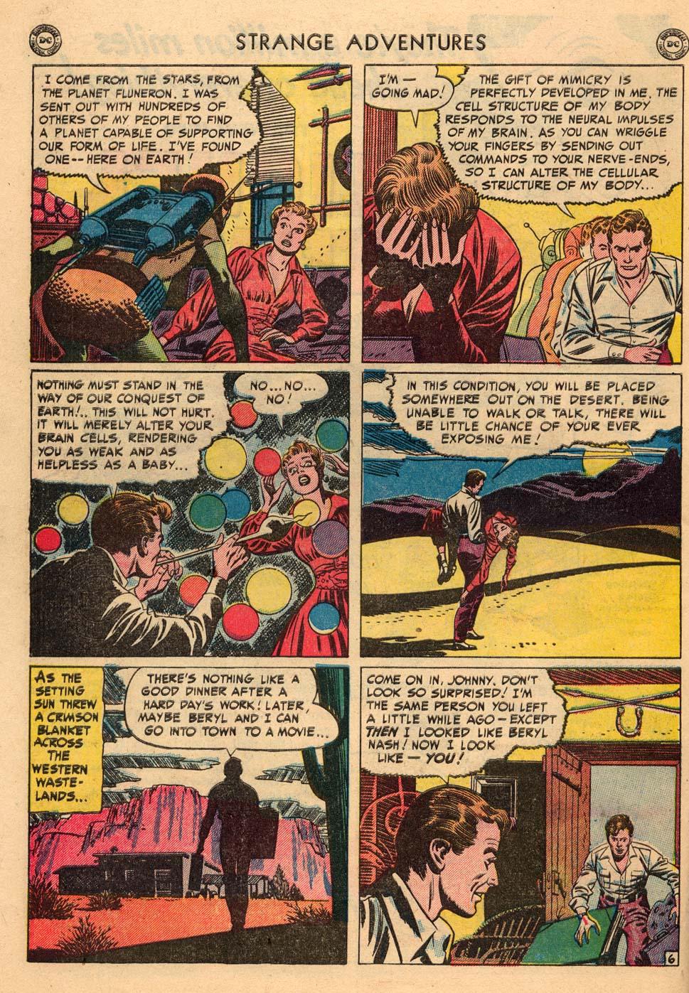 Strange Adventures (1950) issue 3 - Page 44