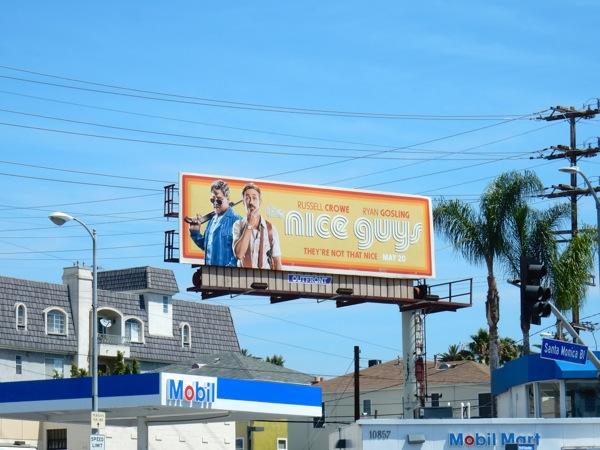 Nice Guys film billboard