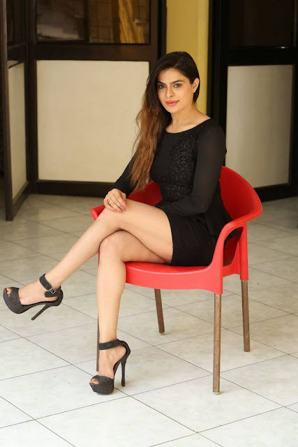 Anitha Raghav Stills At Saaradhi Movie Press Meet