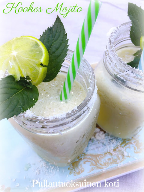 #kookosmojito #kookos #mojito #drinks #drinkki #coconut #coconutmojito #lightdrink #summerdrinks