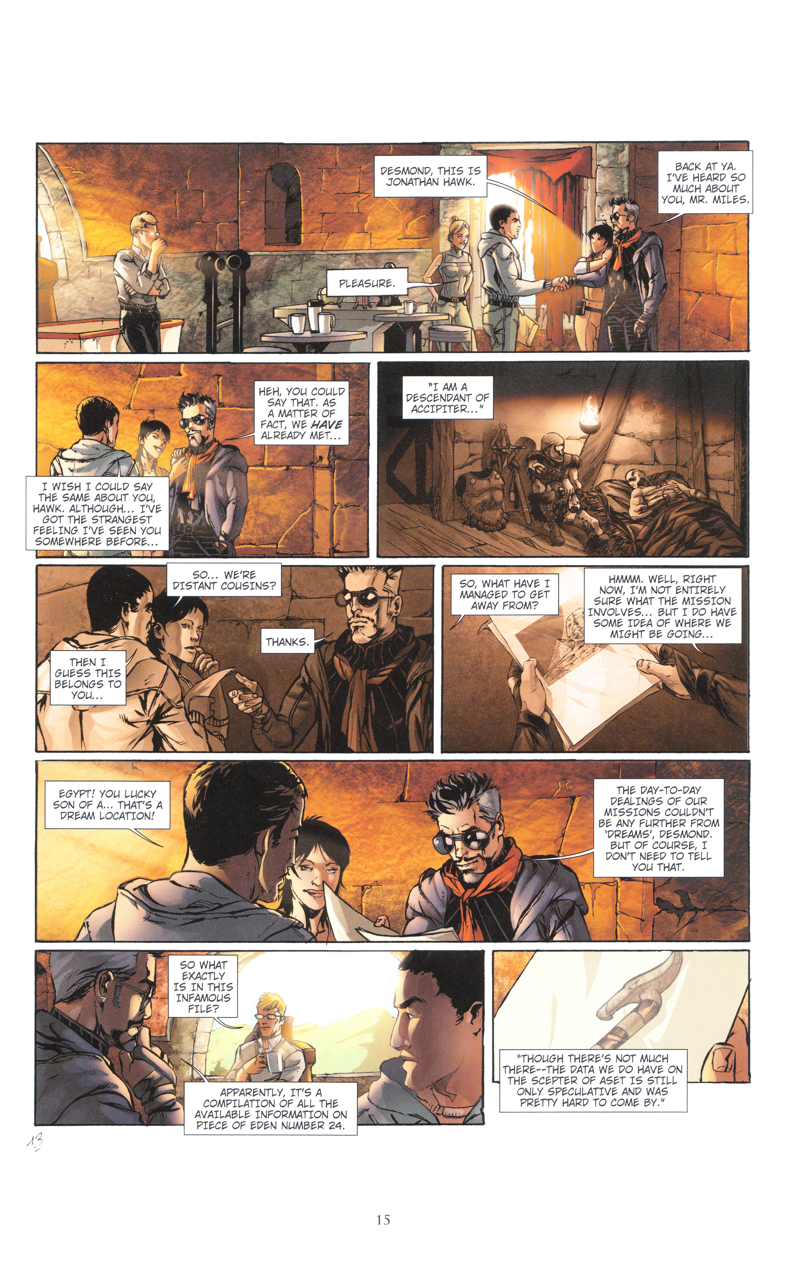 Read online Assassin's Creed (2012) comic -  Issue #4 - 15