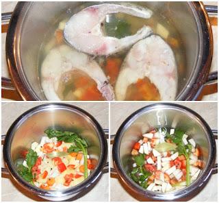 preparare supa de peste, retete de peste, preparate din peste, mancaruri cu peste, retete culinare,