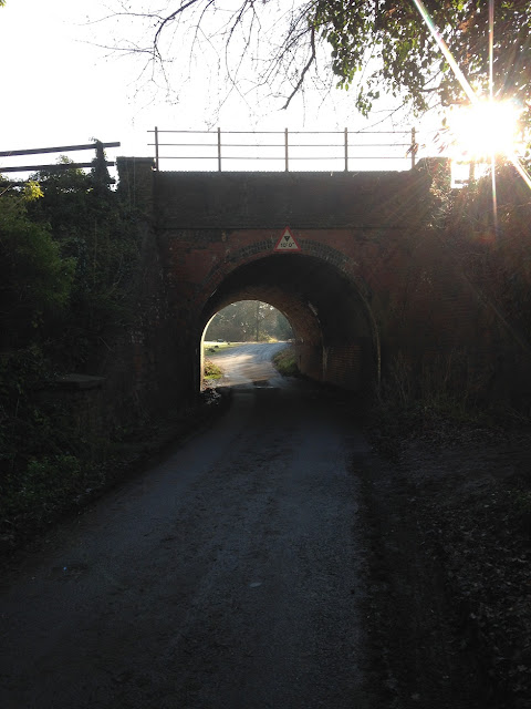 Railway bridge across Holt Lane, Hook, Hampshire