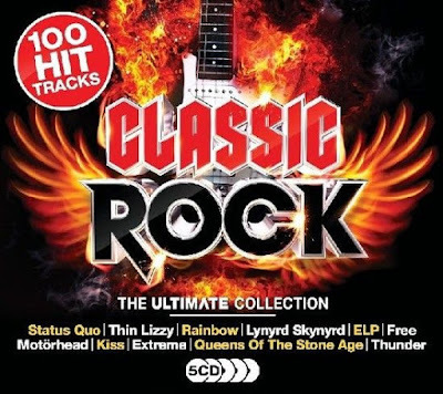The Ultimate Collection Classic Rock 2017 5CD Mp3 320 Kbps