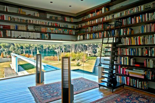 Prime Pix Grove Contemporary Home Library Designs Largest Home Design Picture Inspirations Pitcheantrous