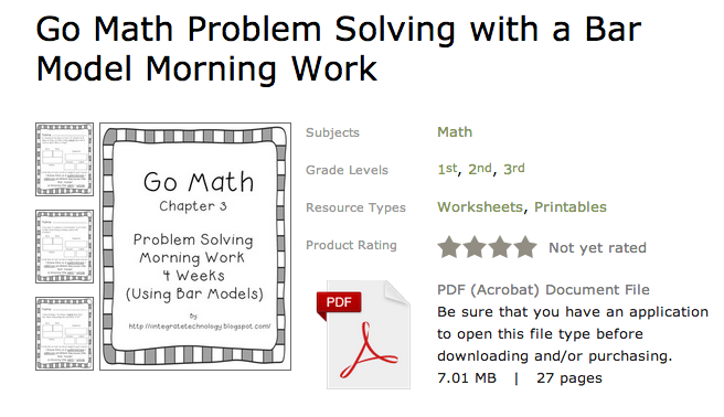 iintegratetechnology Problem Solving Apps and Go Math Problem – Go Math Worksheets