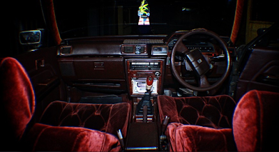 Interior Toyota Cressida Restorasi
