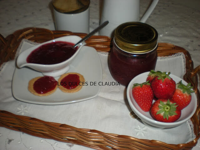 mermelada fresa