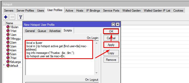 Mengunci MAC Address User Hotspot di Mikrotik - NgoprakIT