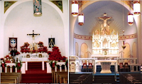 Before and After: Holy Cross Catholic Church in East Bernard, Texas
