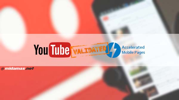 Youtube valid AMP