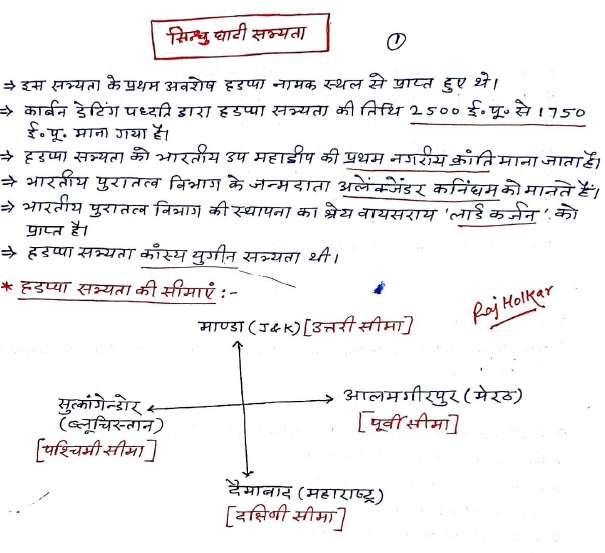 Ancient History Hand Written Notes by Raj HolKar PDF Download