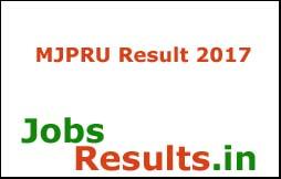 MJPRU Result 2017