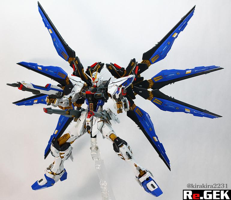 Custom Build: MG 1/100 Strike Freedom Gundam [Ver. 1.5 ...